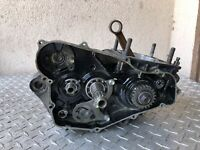 HONDA CR250R 1985 85 Bottom End Transmission ENGINE CASES CRANK SHAF CR250