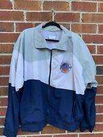 Vintage 1995 Windbreaker Jacket Color Block NCAA Final Four Seattle XL Large