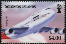Qantas Airways BOEING 747 Jumbo Jet Airliner Aircraft Stamp