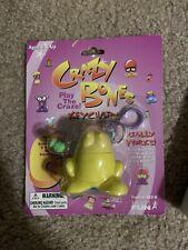 Crazy Bones Keychain With Mini Gogos 1996 Eggy Rare