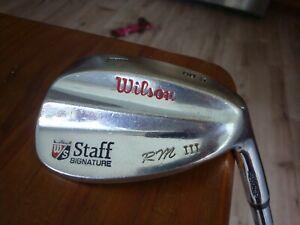 Wilson Staff R Mendralla III 60-5 60° LW Lob Wedge Steel Stiff Golf