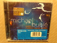 MICHAEL BUBLE' -  MEETS MADISON SQUARE GARDEN - SPECIAL ED. - CD+ DVD 2009 NUOVO