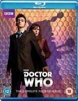 DOCTOR WHO - Complete Season 4 - David Tennant, Colin Teague NEW Bluray Region B