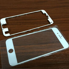 Outer Glass Lens Screen LCD Cover + Middle Frame Bezel For iPhone 6 6S 7 Plus 5S