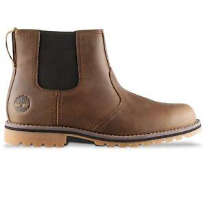 Timberland Boots - Timberland Larchmont II Chelsea Rust Full-Grain
