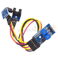 2 Way Motor Speed Detection Counting Sensor LM393 Slot Type Optocoupler Module