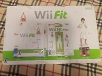 Nintendo Wii Fit Balance Board Bundle with Wii Fit Plus Game Tested & Working