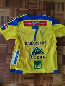 POVILAS BABARSKAS  Match Worn Jersey  Handball club Celje EHF Champions league