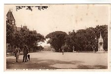Esplanade Road - Bombay Photo Postcard c1930s