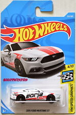 HOT WHEELS 2018 HW SPEED GRAPHICS 2015 FORD MUSTANG GT WHITE