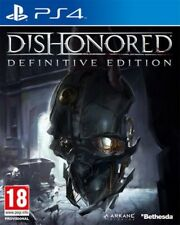 DISHONORED DEFINITIVE EDITION PER PS4 NUOVO SIGILLATO DA NEGOZIO ITALIANO!!!