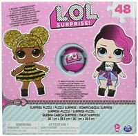 L.O.L. Surprise Puzzle Box 48 Pieces With Exclusive Ball Accessory Kids Fun