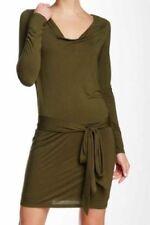 "Haute Hippie ""Fatigue"" Army Green Dress W/ Faux Wrap Back Size Medium, NWT! $395"
