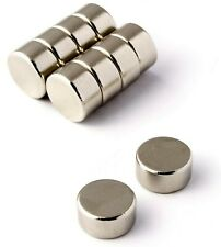 Very Strong Magnets 6mm 10mm 12mm 15mm Round Various Depths 1mm 2mm 3mm 5mm