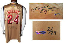 Kobe Bryant signed Pro Adidas 2008 All Star Game jersey autograph UDA COA LE /24