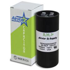 36 - 43 uF x 330 VAC • BMI # 092A036B330AD2A Motor Start Capacitor • USA