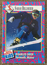 1993 Sports Illustrated for Kids Card Skier Sarah Billmeier #120