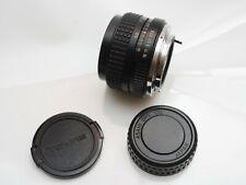Pentax PK Tokina RMC II  28mm f/2.8 Manual Focus Wide-Angle lens with Caps