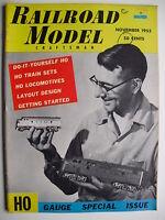 November 1955 RAILROAD MODEL CRAFTSMAN Magazine HO GUAGE SPECIAL ISSUE