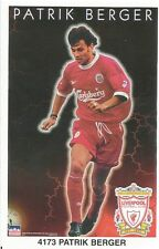 PATRIK BERGER LIVERPOOL FC Original Starline Poster MINI Promo Piece 3x5