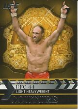Randy Couture 2011 Topps UFC Title Shot Championship Chronology Card # CC21