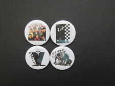 "MADNESS - SKA   -Novelty- music - 1"" Button badges x 4+ free UK postage*"