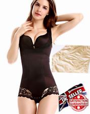 Ladies Womens One Piece Bodyshaper Bodysuit Tummy Tucker Waist Trimmer Underwear