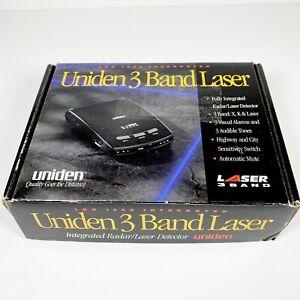 Uniden 3 Band Laser Radar Detector LRD 1900 3 Band X, K & Laser