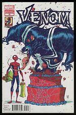 Venom 24 Spider-Man 50th Anniversary Skottie Young Variant Bithday Cake cvr art