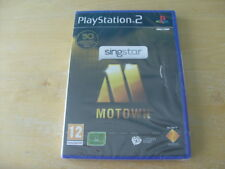 SingStar: Motown (Sony PlayStation 2, 2009) PS2 - NEW - SEALED