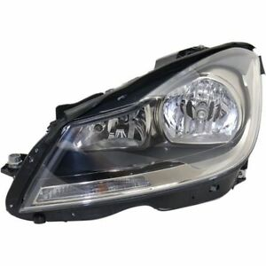 New Headlight (Driver Side) for Mercedes-Benz C63 AMG MB2502186C 2012 to 2015