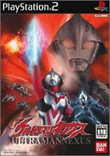 USED PS2 PlayStation 2 Ultraman Nexus 41556 JAPAN IMPORT