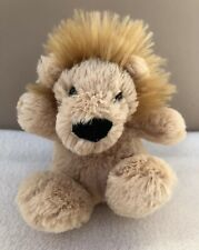 Jellycat Poppet Lion Soft Toy Tiny Small Baby Comforter Soother Brown Beige