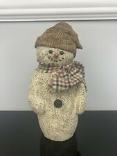 Sarah's Attic Limited Edition Figurine Large Chilly The Snowman 1997