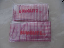 Sunglitz Highlighting Frosting Caps 20 pack Heat & Shrink Plastic x 2 *40 Total