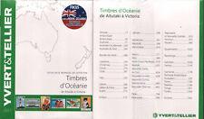 CATALOGO SELLOS OCEANIA YVERT&TELLIER 2017 . AITUTAKI A VICTORIA