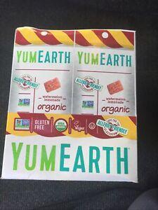 YumEarth Organic Gluten Free Sour Twists 12 2 Oz. Packs Watermelon Lemonade