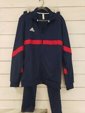 Adidas Navy and Red Mens Track Suit
