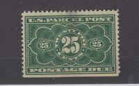 USA 1912 25c Parcel Postage Due Sc#JQ5 MH JK1005