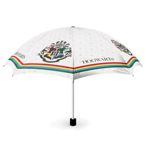 Officially Licensed Harry Potter Hogwarts Stripe Compact Umbrella *FAST DISPATCH