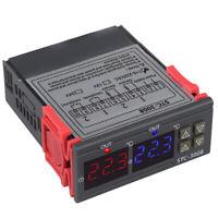 Stc-3008 110-220V Controlador De Temperatura De Termostato Digital Dual par C6N1