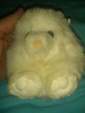 Vintage SWIBCO Puffkins White Cat PAWS DOB 6-1-97  NWT Very Cute