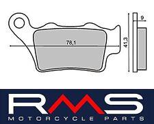 225101330 RMS pastiglie freno POSTERIORI KTM125 EXC (2T) 2002 2003