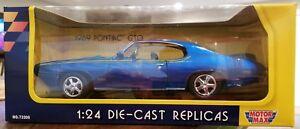 Motor Max -  1969 Pontiac GTO   NIB  1:24 Scale