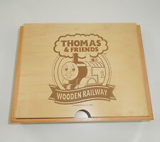 Thomas & Friends Wood Storage Case Gullane Limited Edition 2007 Collectable EUC