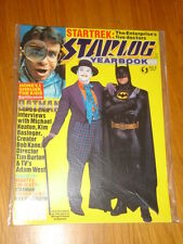 STARLOG SCIENCE FICTION YEARBOOK MAGAZINE VOL 6 1990 BATMAN JOKER STAR TREK