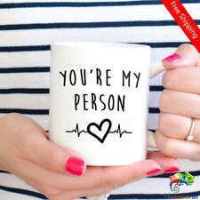 You're My Person Mug Greys Anatomy coffee mugs mug whiskey beer ceramic mugs Cup