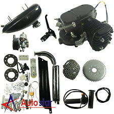 80cc High Performance Motorized Bicycle Engine Kit Upgrade Cylinder Carb Exhaust