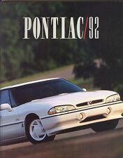 1992 Pontiac Firebird Trans Am Bonneville FL Deluxe 96-Page Sales Brochure
