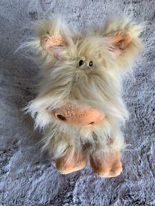"Pig Gund Hairoids Niblet Furry Plush Stuffed Animal Tags Soft Toy 12"" Vintage"